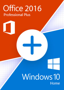 Comprar Windows 10 Home + Office 2016 Pro - Bundle
