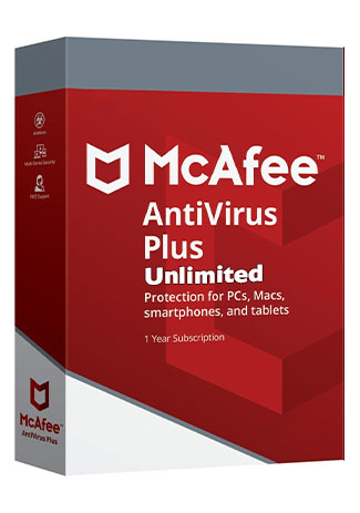 McAfee Antivirus Plus unlimited - 1 Year (Account)