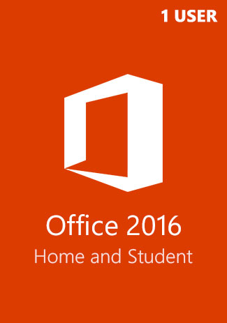 Buy Microsoft Office 2016 (Home and Student - 1 User)