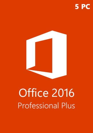 購買 Microsoft Office 2016 Professional Plus CD-KEY (5 PC)