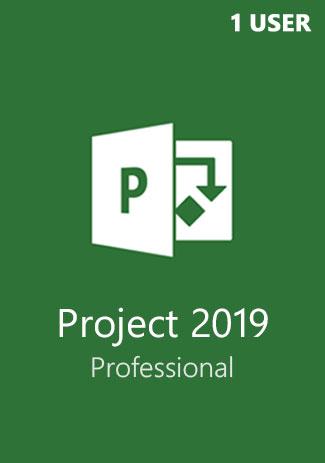 Comprar Microsoft Project Professional 2019 1 User