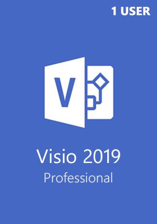 Buy Microsoft Visio Professional 2019 1 User