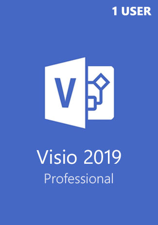 Buy Microsoft Visio Professional 2019 1 User