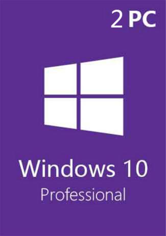 Windows 10 Pro Professional CD-KEY (32/64 Bit) (2 PC)