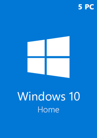 Buy Windows 10 Home CD-KEY (32/64 Bit) (5 PC)