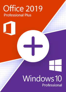 Windows 10 Pro + Office 2019 Pro - Bundle