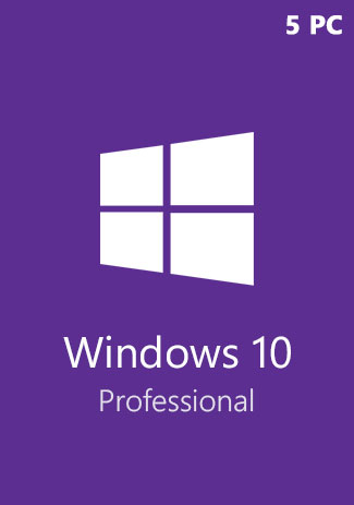 Windows 10 Pro Professional CD-KEY (32/64 Bit) (5 PC)