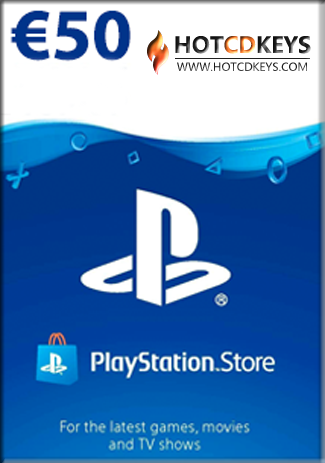 購買 PSN 50 EUR / PlayStation Network Gift Card  AT Store