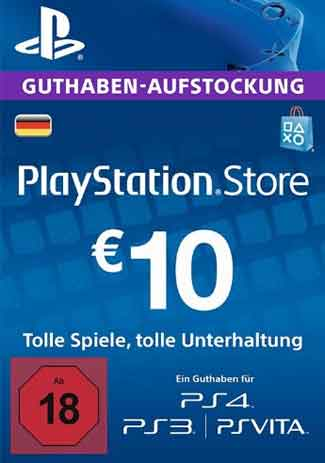 Buy PSN 10 EUR / PlayStation Network Gift Card DE Store