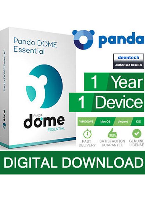Acheter Panda Dome Essential 1 PC 1 Year Global Key