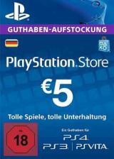 PSN 5 EUR / PlayStation Network Gift Card DE Store