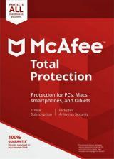 Buy McAfee Total Protection Unlimited Devices - 1 Year (Account)