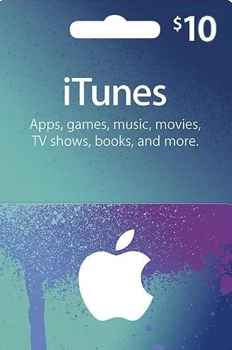 Comprar Apple iTunes $10 Gutschein-Code US iPhone Store