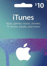 Apple iTunes $10 Gutschein-Code US iPhone Store