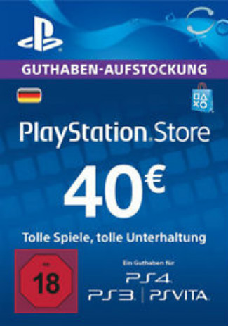 Comprar PlayStation Network Gift Card 40 EUR DE Store