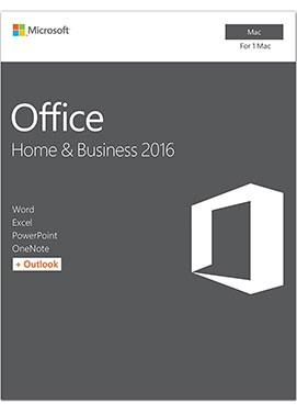 Buy Microsoft Office 2016 Home & Business (For Mac)