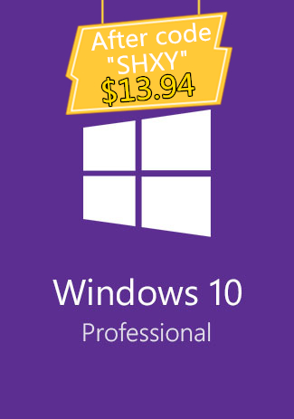 Windows 10 Professional OEM Key (32/64 Bit)(SECKILL)