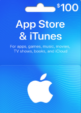 Apple iTunes $100 Gutschein-Code US iPhone Store