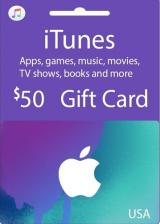 hotcdkeys.com, Apple iTunes $50 Gutschein-Code US iPhone Store