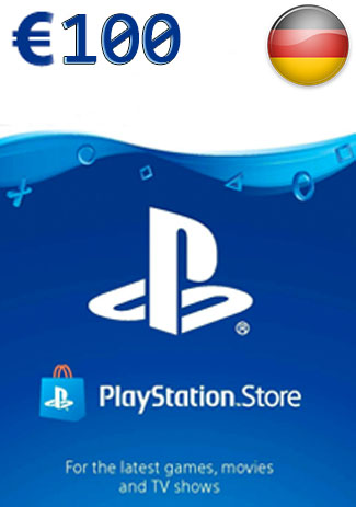 Buy PSN 100 EUR (DE) - PlayStation Network Gift Card