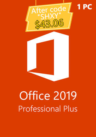 Microsoft Office 2019 Professional Plus CD-KEY (1PC)(SECKILL)