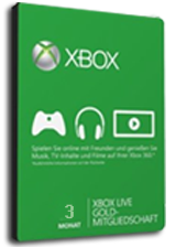 Buy Xbox live 3 Month Gold Membership Digital Code