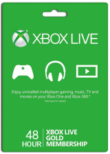 Buy Xbox Live  Gold 48 Hours