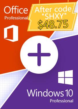 Buy Windows 10 Pro + Office 2019 Pro - Bundle(SECKILL)