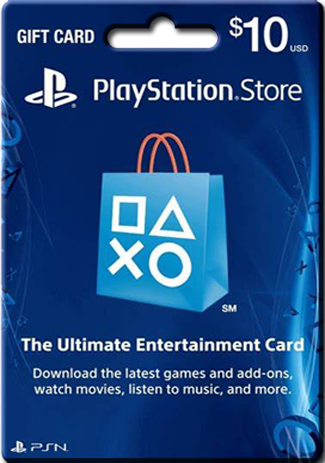 購買 PSN 10 USD / PlayStation Network Gift Card US Store