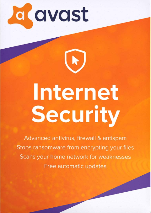 Buy Avast Internet Security 1 PC 1 Year Key Global