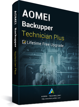 購買 AOMEI Backupper Technician Plus + Lifetime Free Upgrades Key Global