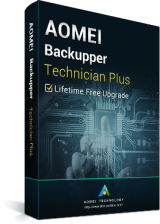 AOMEI Backupper Technician Plus + Lifetime Free Upgrades Key Global