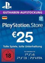 PSN 25 EUR / PlayStation Network Gift Card DE Store